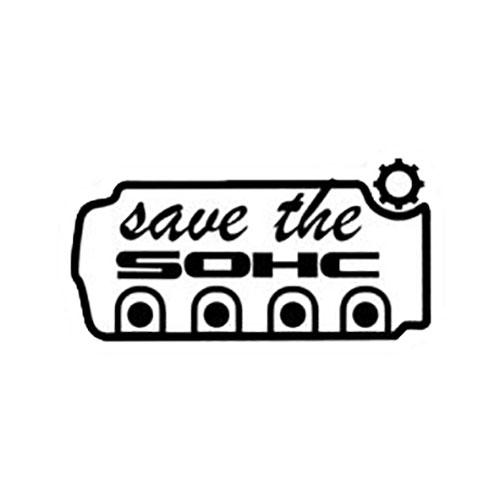 Стикер Honda Save The SOHC