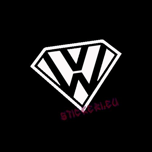Стикер супер Volkswagen 2