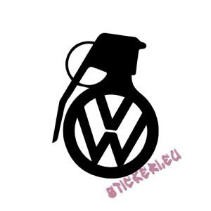 Стикер VW граната - 1 - Stickeri.eu