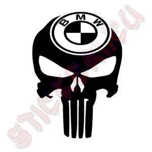 Стикер Punisher BMW