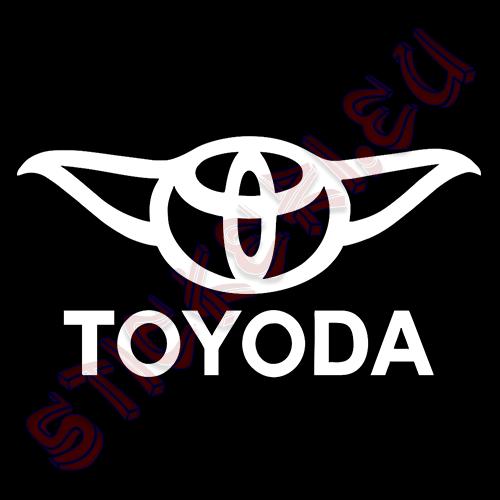 Стикер за кола TOYODA 2