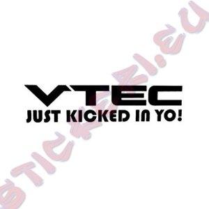Стикер VTEC Just Kicked in Yo