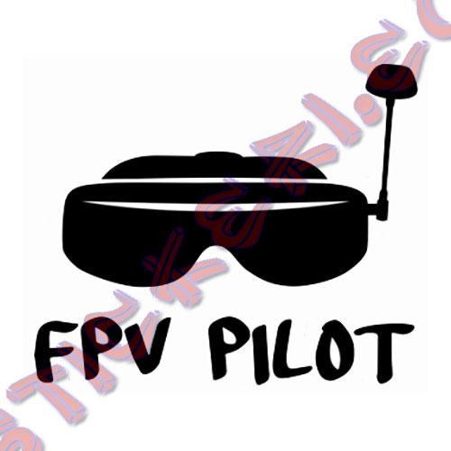 Стикер FPV Pilot