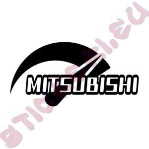 Стикер за автомобили Мitsubishi Power