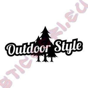 Стикер за автомобили Outdoor Style
