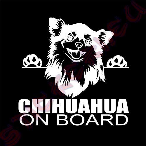 Стикер Chihuahua on board 3