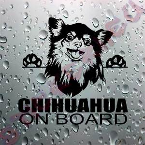 Стикер Chihuahua on board