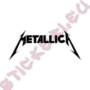 Стикер за кола Metallica