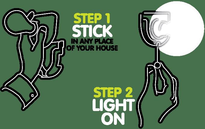 Sticker Lamp®