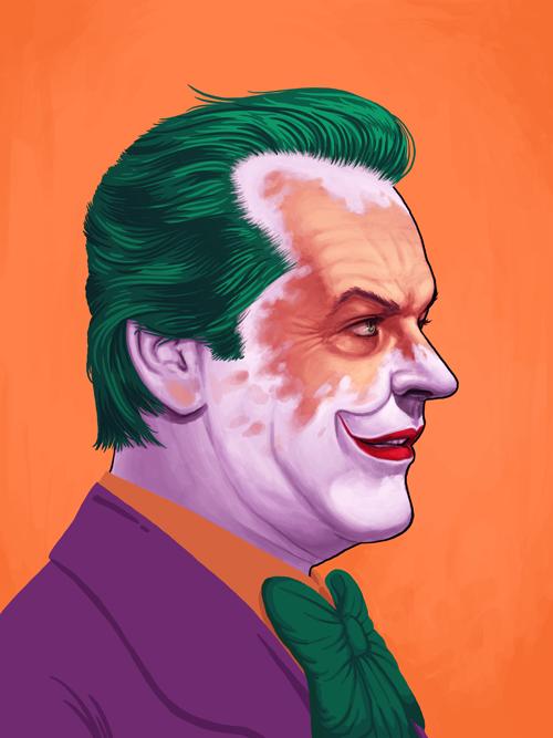 Batman Joker Full Hd Wallpaper 32 Amazing Pop Culture Hero Portraits Sticker Robot