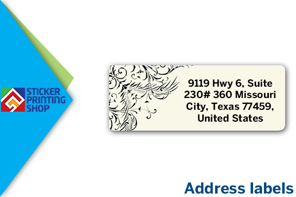 why address labels are