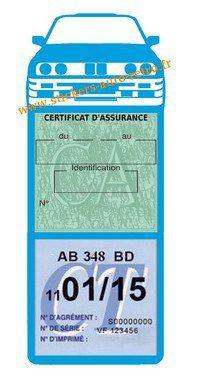 Autocollant Stickers porte méga vignette assurance voiture M3 e30 BMW bleu clair rétro-mobile.