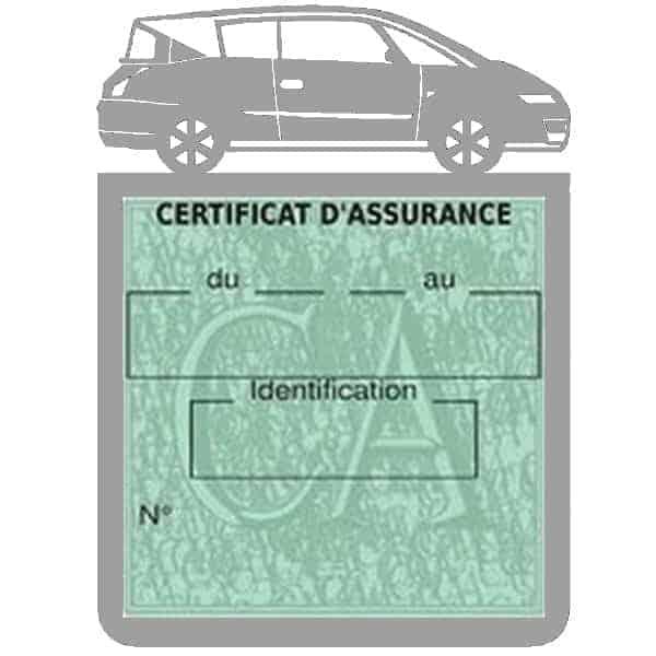 Vignette assurance voiture AVANTIME Renault gris
