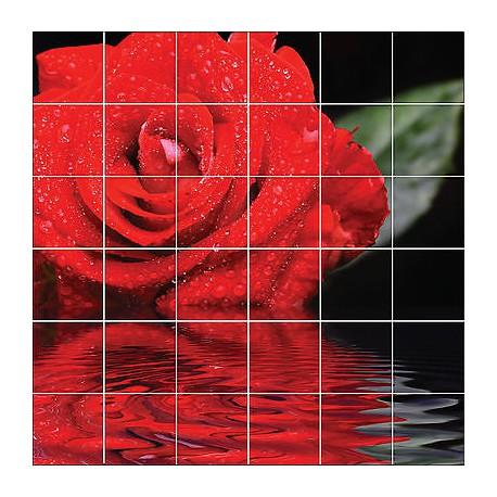 dekoration faience deco cuisine ou salle de bain rose ref 1860 stickers carrelage mural mobel wohnen stars group com