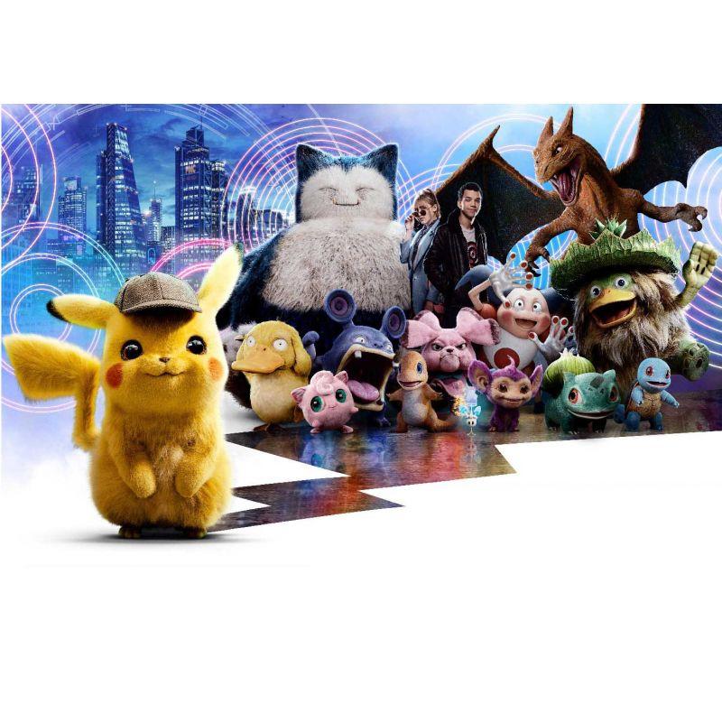 stickers muraux geant pokemon stickers muraux enfant