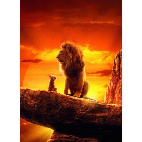 stickers muraux geant le roi lion stickers muraux enfant