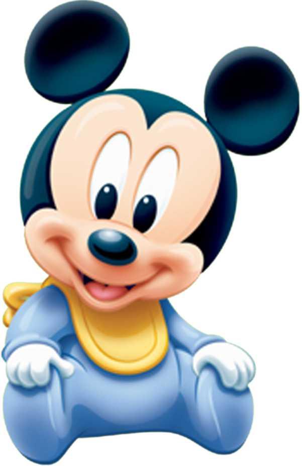 Cute Mickey Mouse And Minnie Mouse Wallpaper Декоративен стикер Мики маус Мини бебе