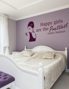 La tua frase preferita diventa adesivo murale. Wall Stickers Frasi Con Citazioni Famose Stickers Murali