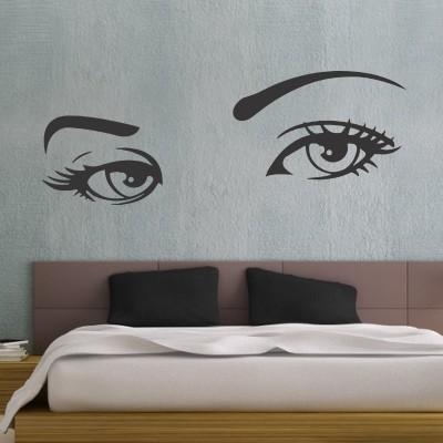 Adesivo Murale Occhi Di Donna  Stickers Murali