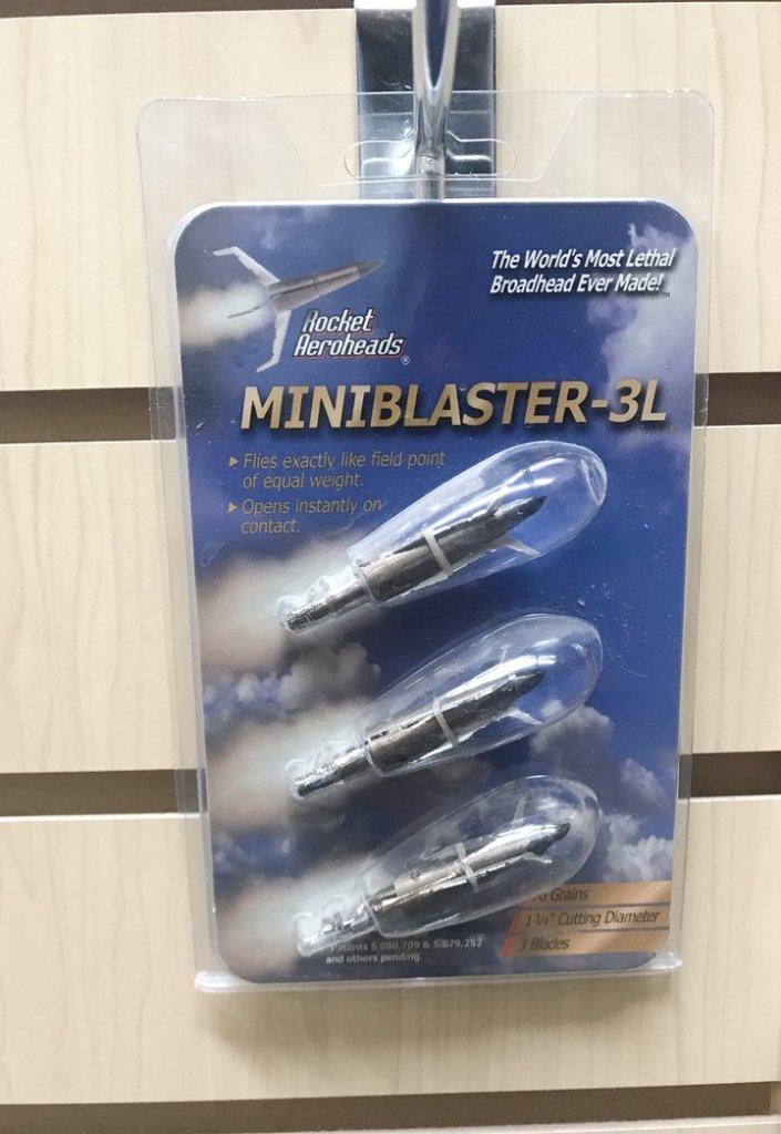 Rocket Miniblaster 3L Broadhead