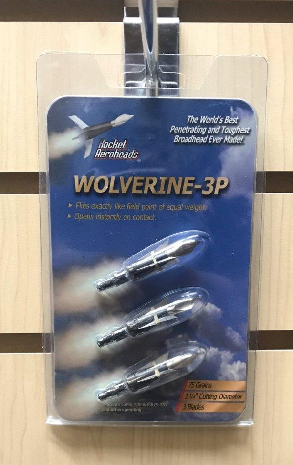 Rocket Wolverine Broadheads