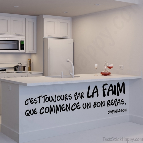 Stickers Cuisine Citation