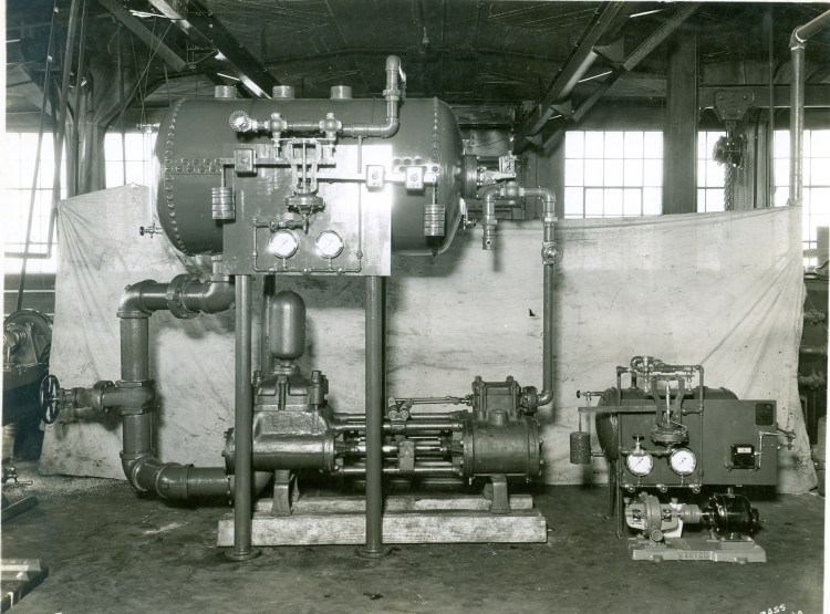 Historic Stickle Steam Equipment