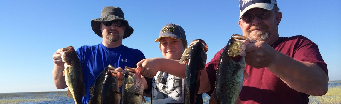 3 Generations catching bass together