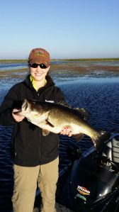 Big Bass on Lake Okeechobee