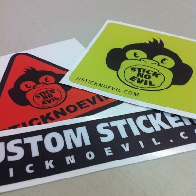 Standard Shapes Stickers