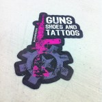 Guns Shoes and Tattoos Sticker