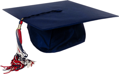 Blue Graduation Cap transparent PNG - StickPNG