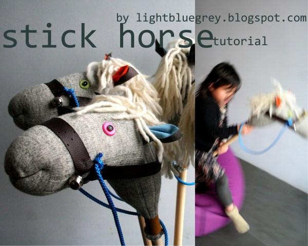 Stick Horse Tutorial Stick Pony Rodeo