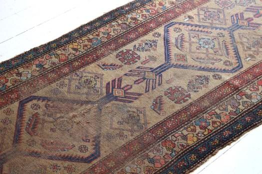 liz karney sticks and bricks rugs hand knotted turkish rug runner northampton westernmass