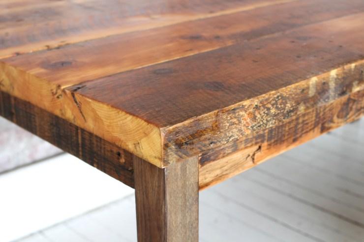 sticks and bricks northampton furniture 2 inch farm table
