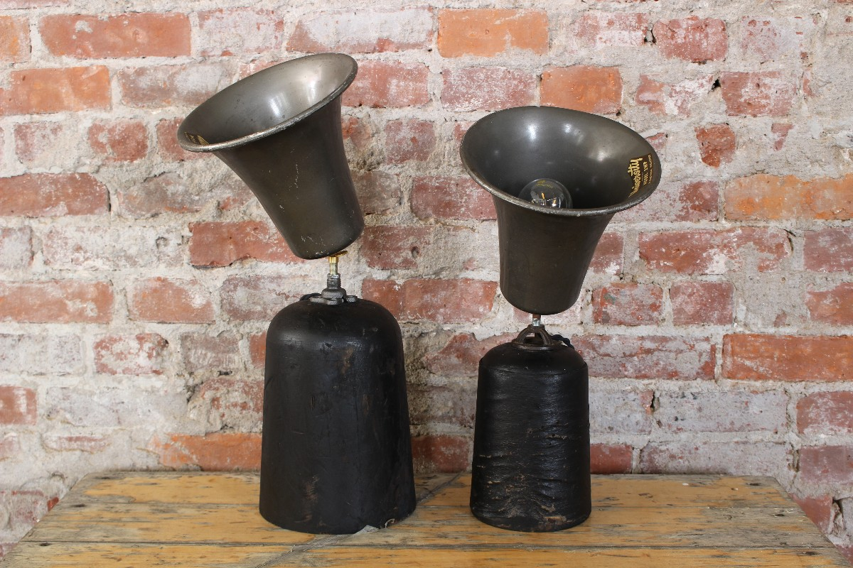 industrial lamps vintage repurposed lighting design northampton handmade local westernmass massachusetts