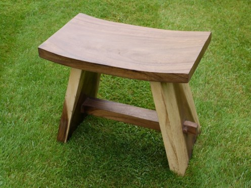 Wooden Stool 1