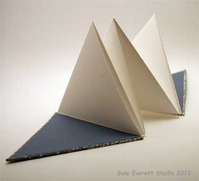 Triangle Accordion Book Tutorial  Sticks Stones and Paper Stew Blog