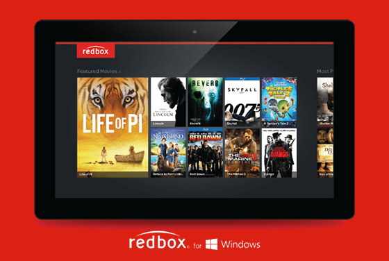 Redbox Windows Tablet