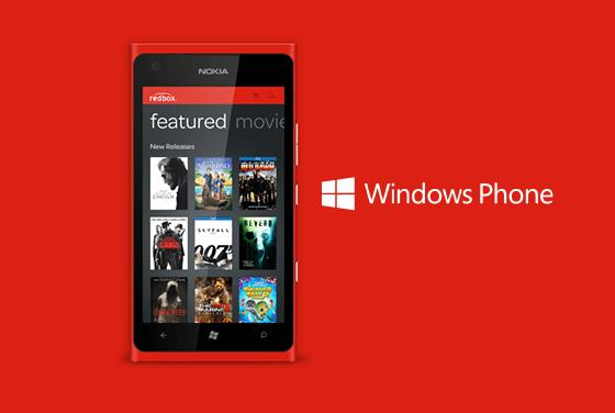 Redbox Windows Phone