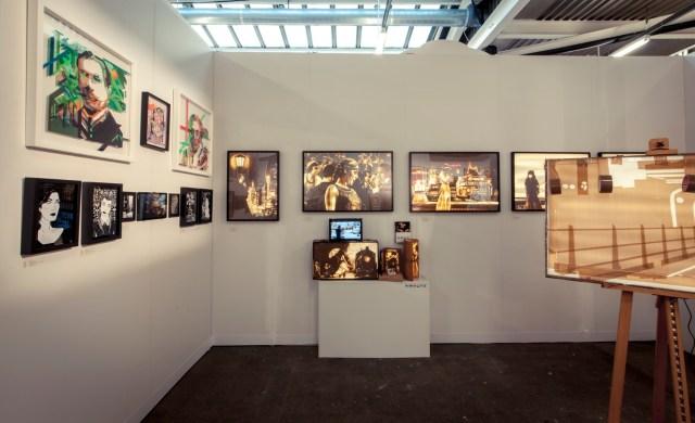 Stick Together, Max Zorn, Banjamin Murphy, NO CURVES at Moniker Art Fair London