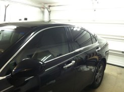 Black Camry After Specialty Auto Window Tinting