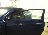 Hyundai Elantra Coup Before Mobile Window Tinting