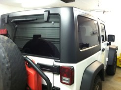 Jeep Rubicon After Auto Window Tinting