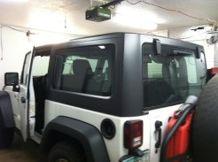 Jeep Rubicon Before Specialty Auto Tint