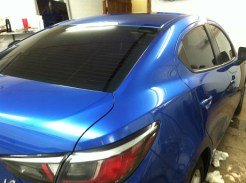 Blue Scion After Mobile Window Tinting