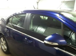 Blue Volt Before Mobile Window Tinting