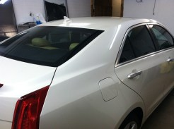 Cadillac ATS Before Mobile Window Tinting