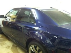 chrysler 300 After Auto Window Tinting