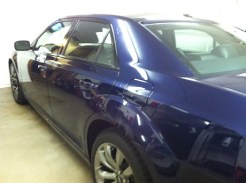 Chrysler 300 Before Auto Window Tinting